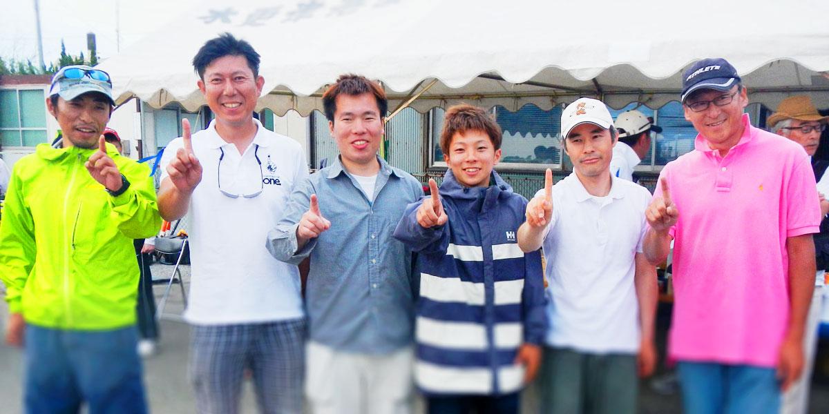 『東京湾黒鯛落とし込みバトル』入賞者